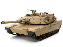 Italeri #77001 1/72 M1A1 Abrams Tank Starter Set