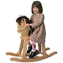 DERBY ROCKING HORSE NATURAL