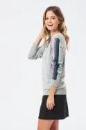 Sugarhill Brighton Rita Lurex Sports Stripe Sweater