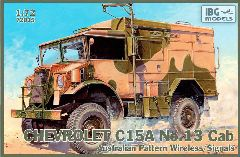 IBG Models #72015 1/72 Chevrolet C15A with No.15 Wireless Cab