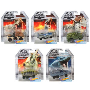 JURASSIC WORLD HOT WHEELS CAR