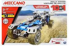 Meccano #M0178 Rally Racer 10 Model Set