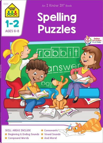 SPELLING PUZZLES 1-2