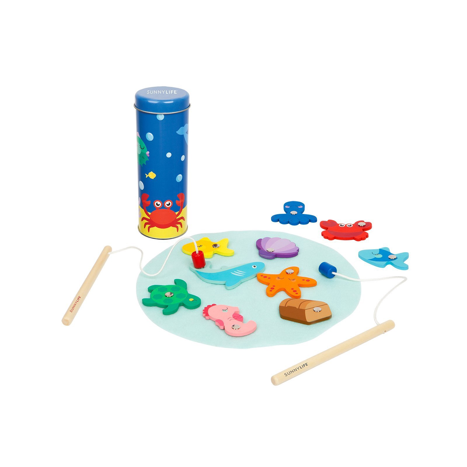 Sunny Life Fishing Game Under the Sea