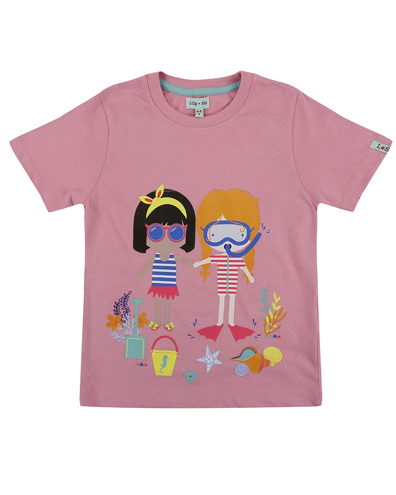 Lilly & Sid BEST BEACH FRIENDS TOP