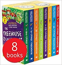 TREEHOUSE COLLECTION 8 BOOKS