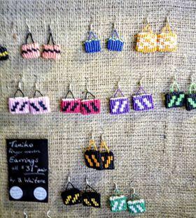Taniko Kete Earrings