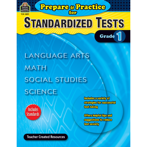 X TCR 2891 PREPARE AND PRACTICE FOR STANDARDIZED TESTS GRADE 1
