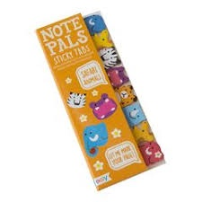 NOTE PALS STICKY NOTE TABS SAFARI ANIMALS