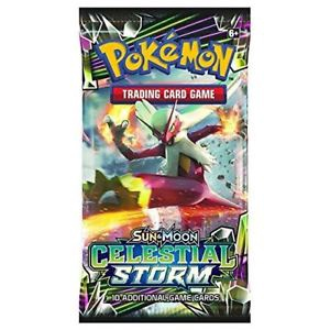 POKEMON BOOSTER SUN MOON CLESTIAL STORM