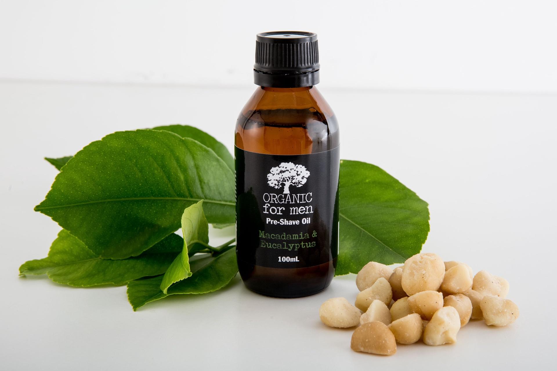 Organic for Men - Pre-shave Oil