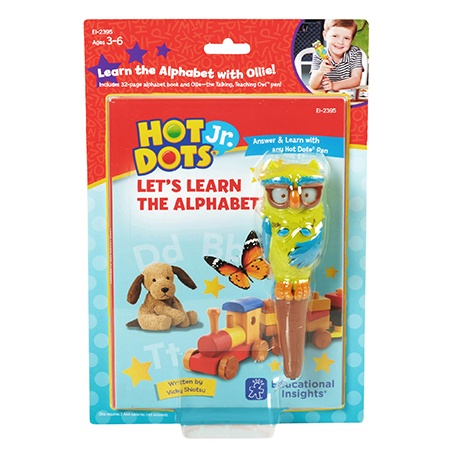 EI 2395 HOT DOTS JR LEARN ALPHABET BK AND PEN SET