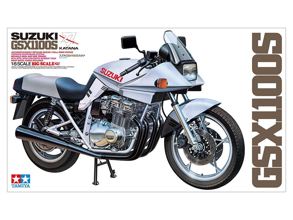 Tamiya #16025 1/6 Suzuki GSX1100S Katana