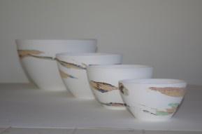 Strata Porcelain Bowl - Small