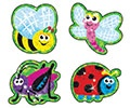 X T 63307 BUSTLING BUGS SPARKLE STICKERS