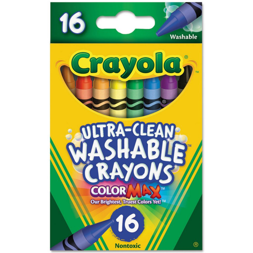 ULTRA-CLEAN WASHABLE CRAYONS 16