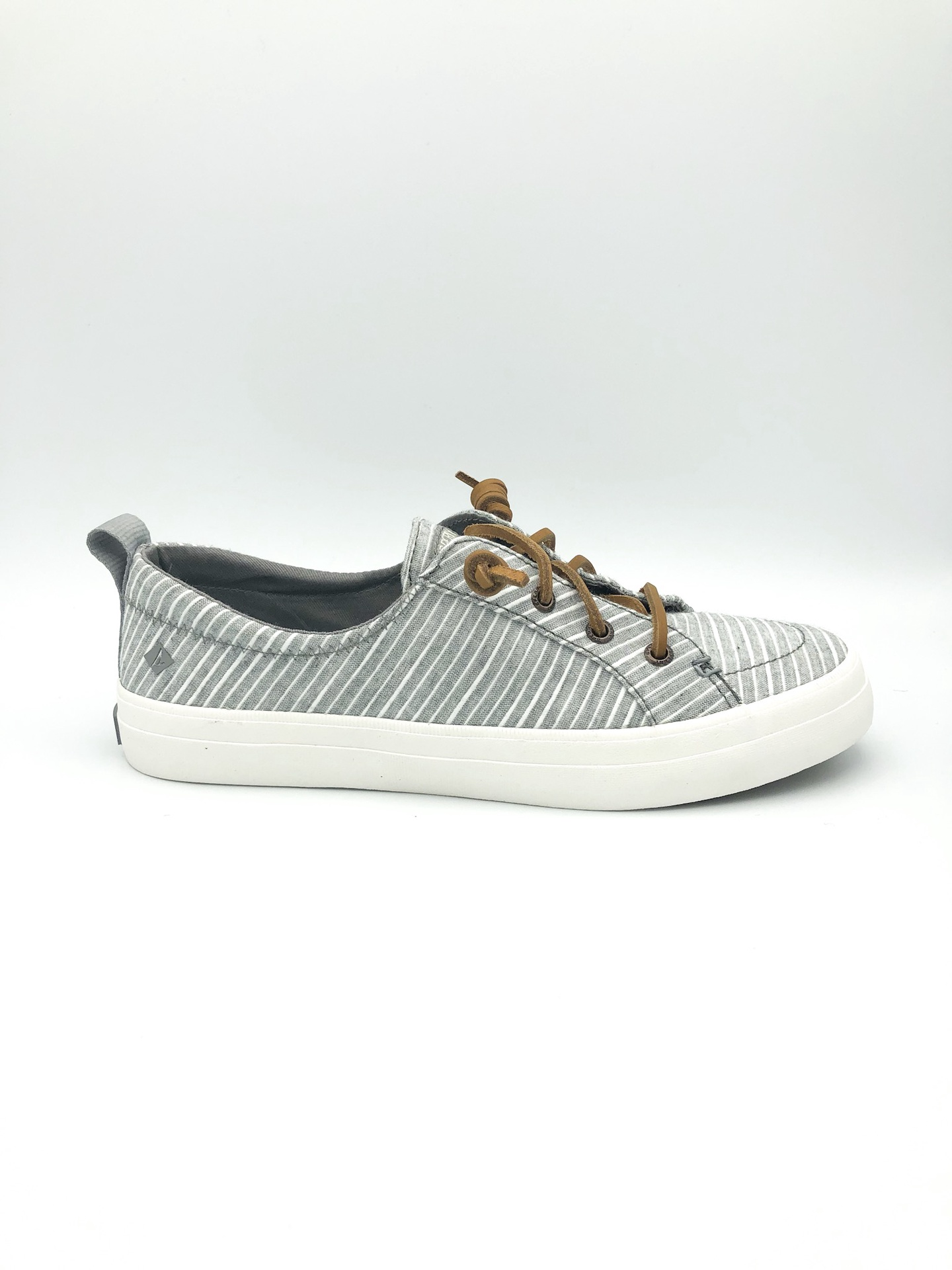 SPERRY - CREST VIBE WASHABLE SNEAKER IN GREY STRIPE
