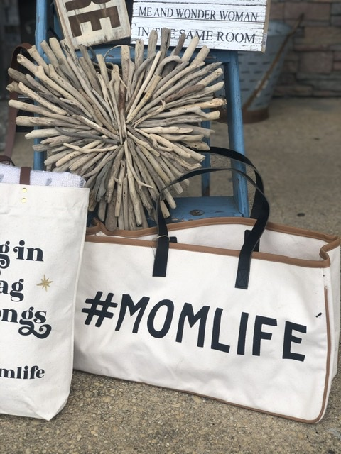 SBD- Canvas Tote - Momlife