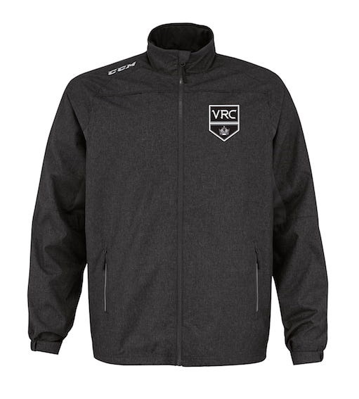 CCM Premium Skate Suit Jacket-VRC Shield Black-EMBROIDERED CREST