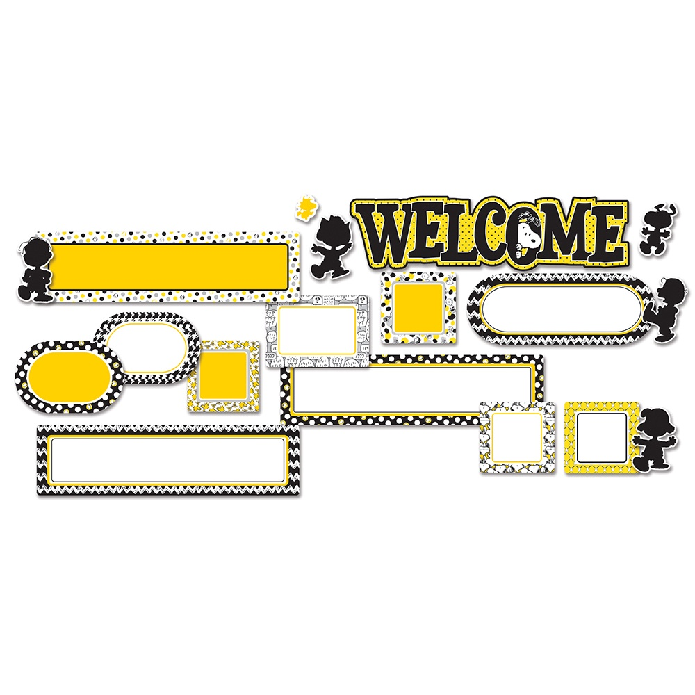 EU 847075 PEANUTS TOUCH OF CLASS WELCOME MINI BBS