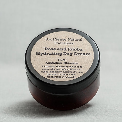 Organic Rose and Jojoba Hydrating Day Cream