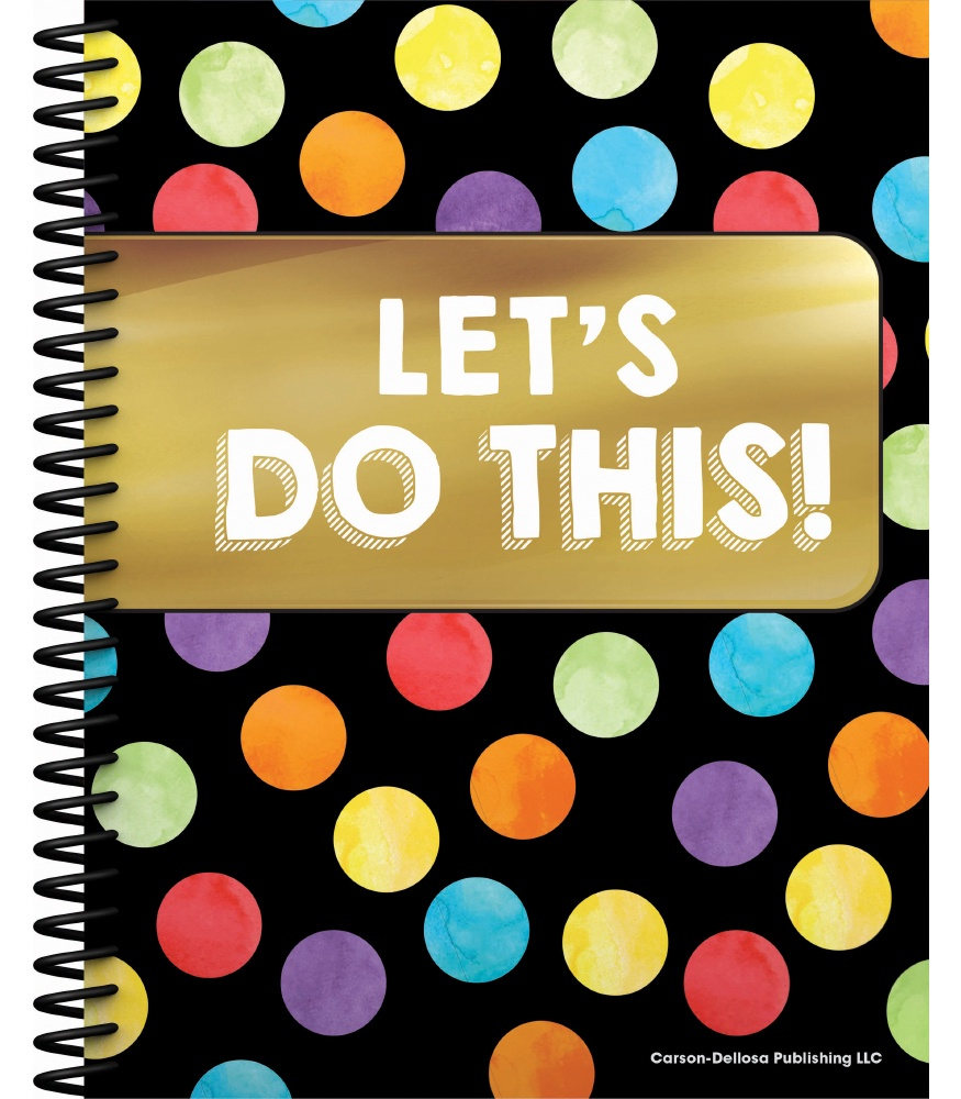 CD 105000 LET'S DO THIS TEACHER PLANNER