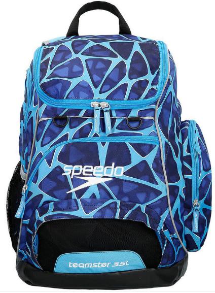 35L Teamster Backpack Cage Blue