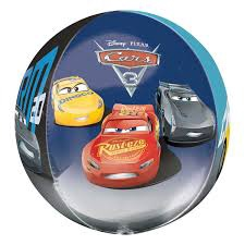 ORBZ CARS 3 FOIL BALLOON
