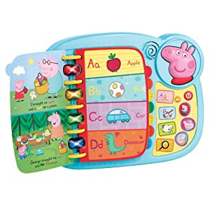 PEPPA PIG LEARN & GO ALPHABET CAR