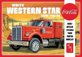 AMT #1160 1/25 White Western Star (Coca Cola)