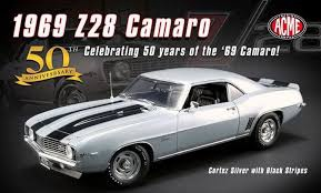 ACME #1805714 1/18 1969 Chevy Camaro Z28 50th Anniversary
