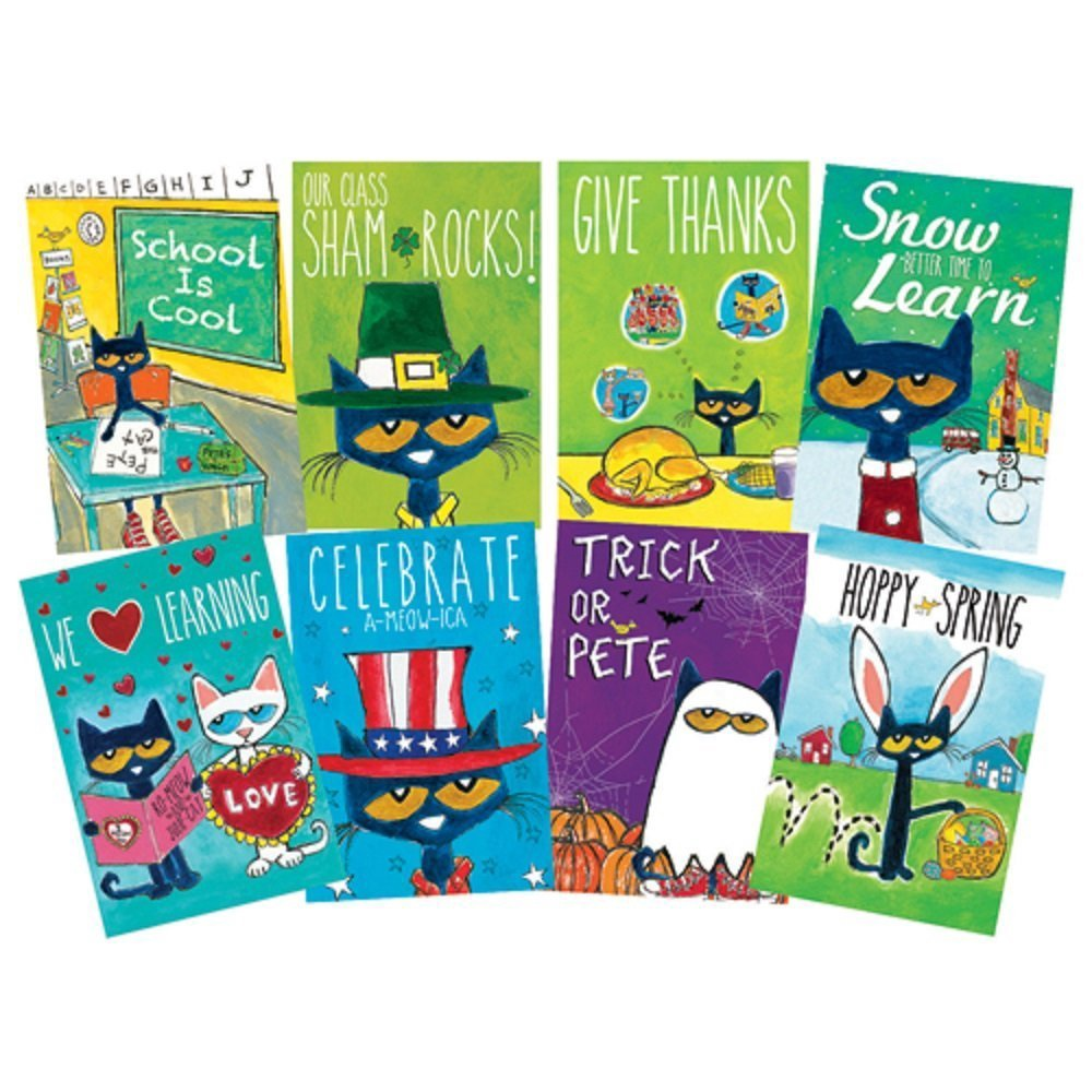 EP 60238 PETE THE CAT HOLIDAY AND SEASONAL POSTERS BBS