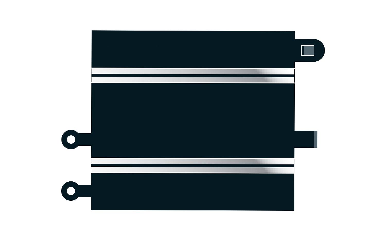 Scalextric #C8222 Converter Straight 2pcs