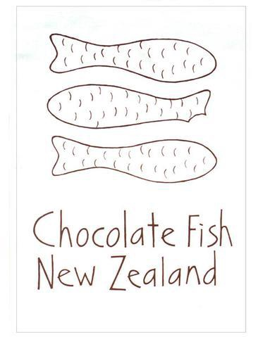 Tea towel Chocolate fish
