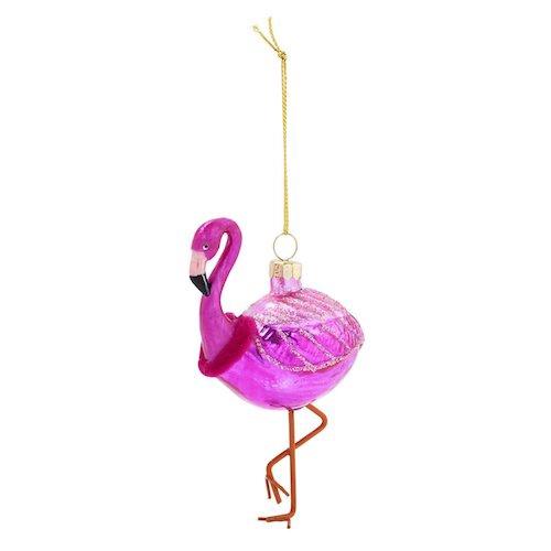 Festive Ornament | Flamingo