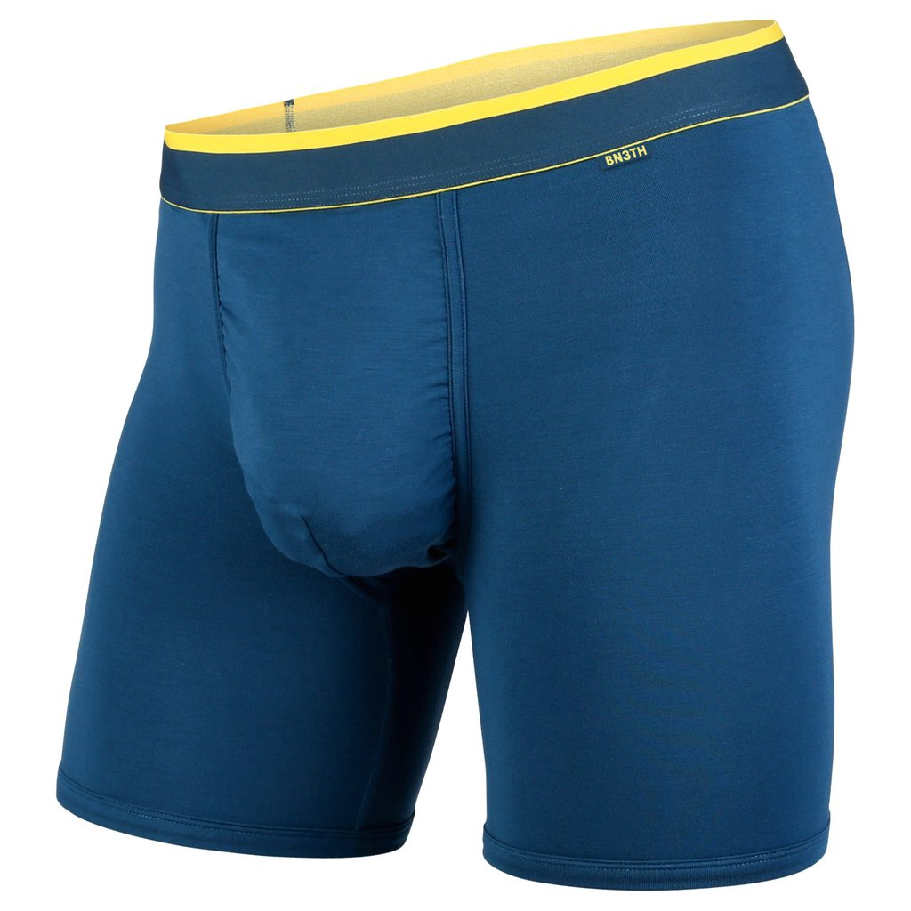BN3TH - CLASSIC BOXER BRIEF IN INK/BUTTER