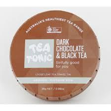 DARK CHOCOLATE & BLACK TEA TRAVEL TIN