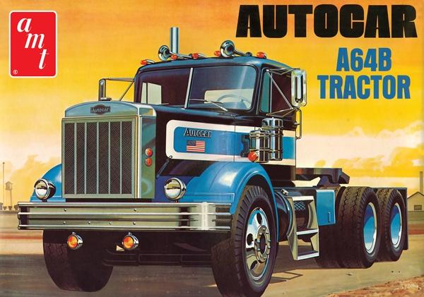AMT #1099 1/25 Autocar A64B Tractor Unit