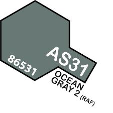 Tamiya Colour Spray Paint #AS-31 Ocean Gray 2  (RAF)