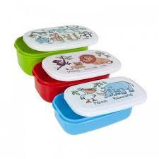 SNACK BOX 3 PCS JUNGLE