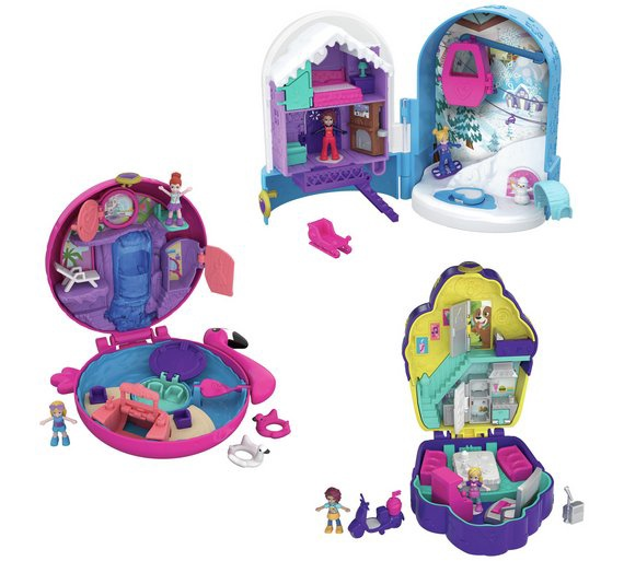 POLLY POCKET WORLD ASST