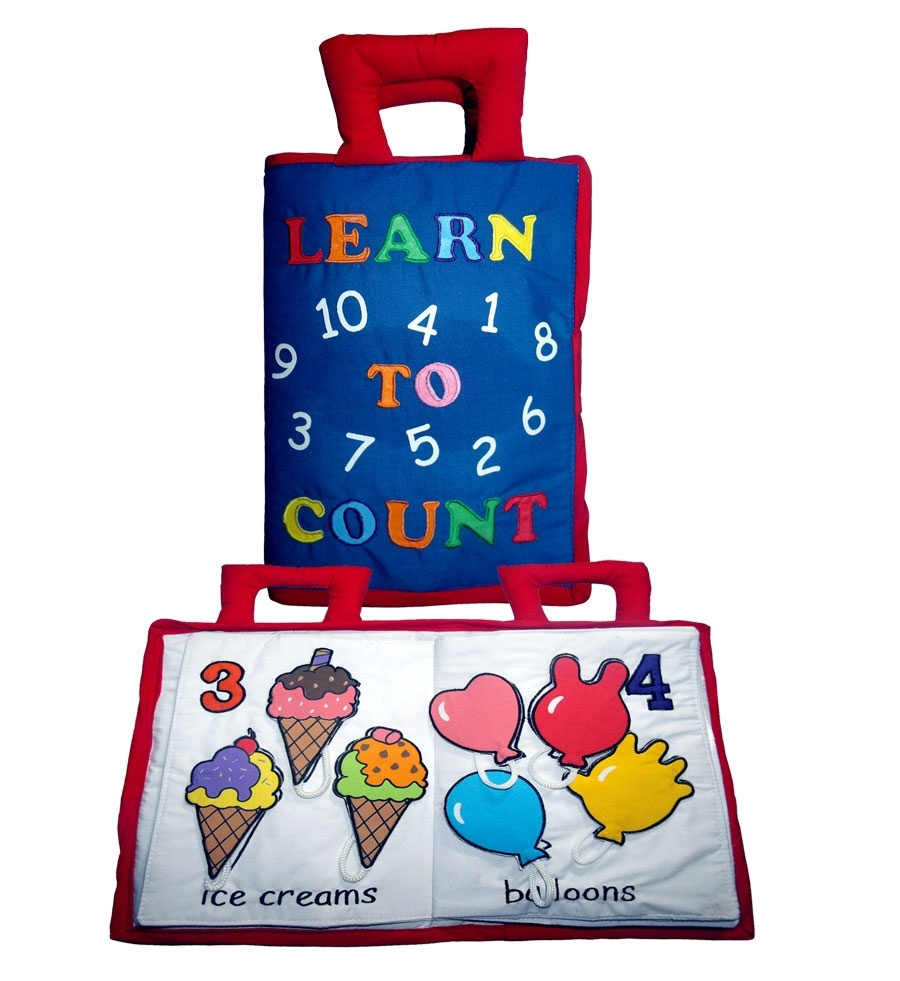 Learn to Count Soft Play Book