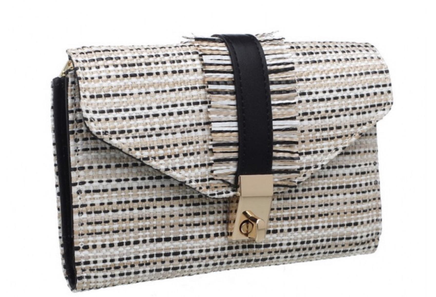 Sienna weave purse
