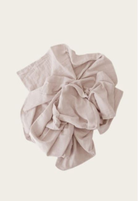 WRAP BLANKET - ROSE DUST