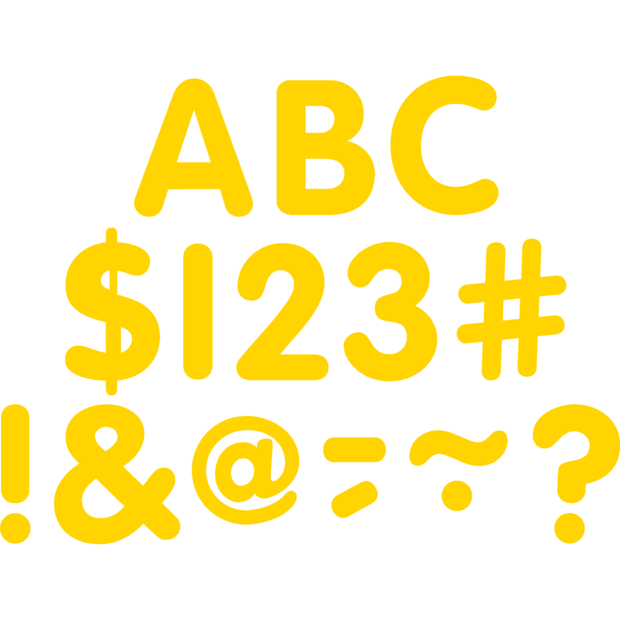 X TCR 5560 CLASSIC LETTERS YELLOW 2
