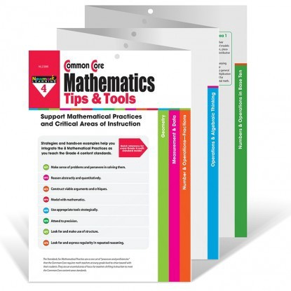 X NL 2386 COMMON CORE MATH TIPS AND TOOLS GR. 4