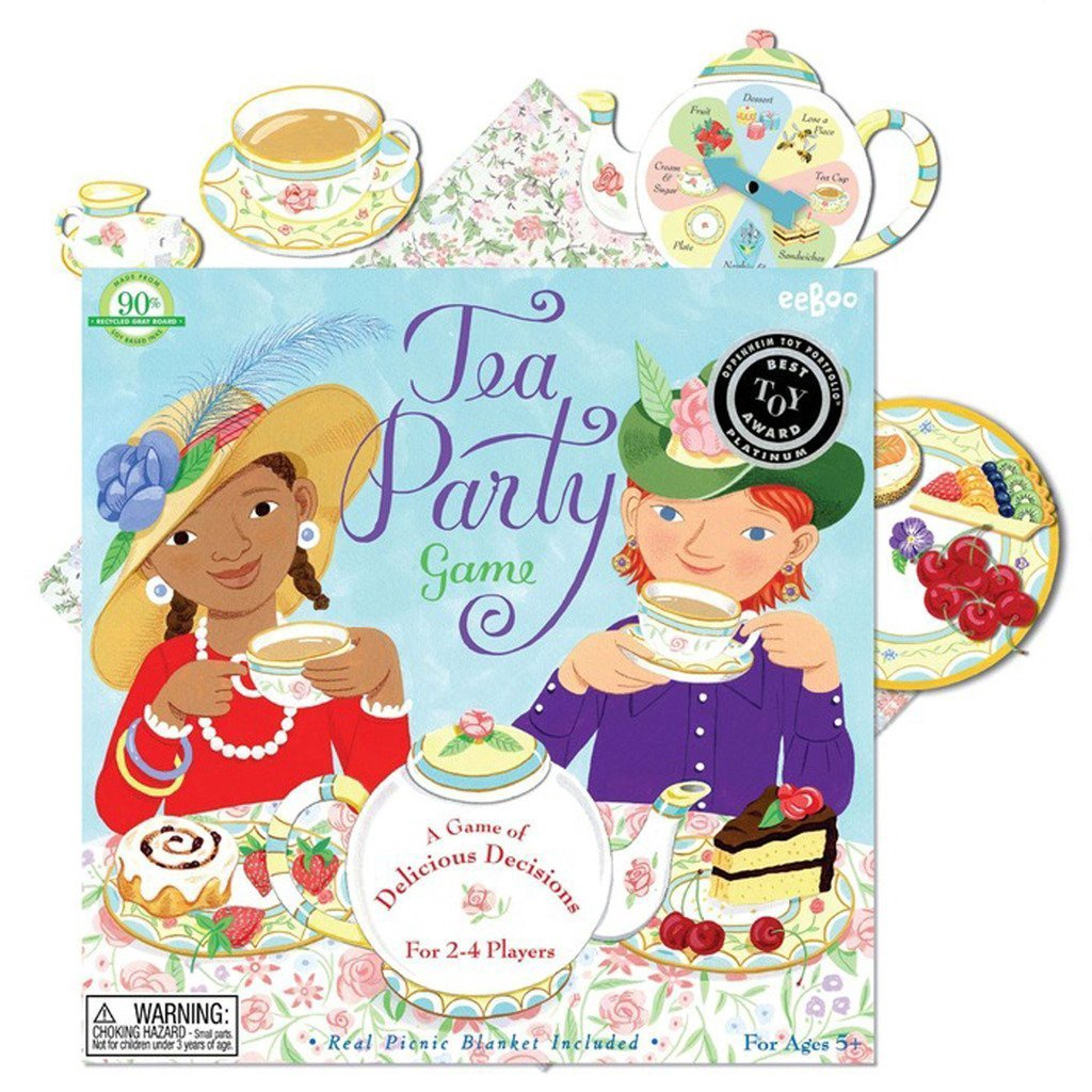TEA PARTY SPINNER GAME(2ED)