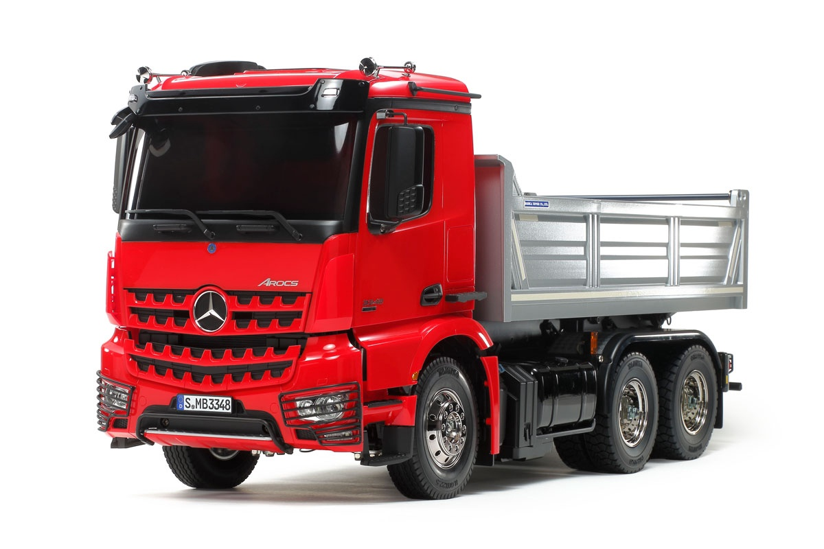 Tamiya # 56361 1/14 Arocs 3348 6x4 Tipper Truck