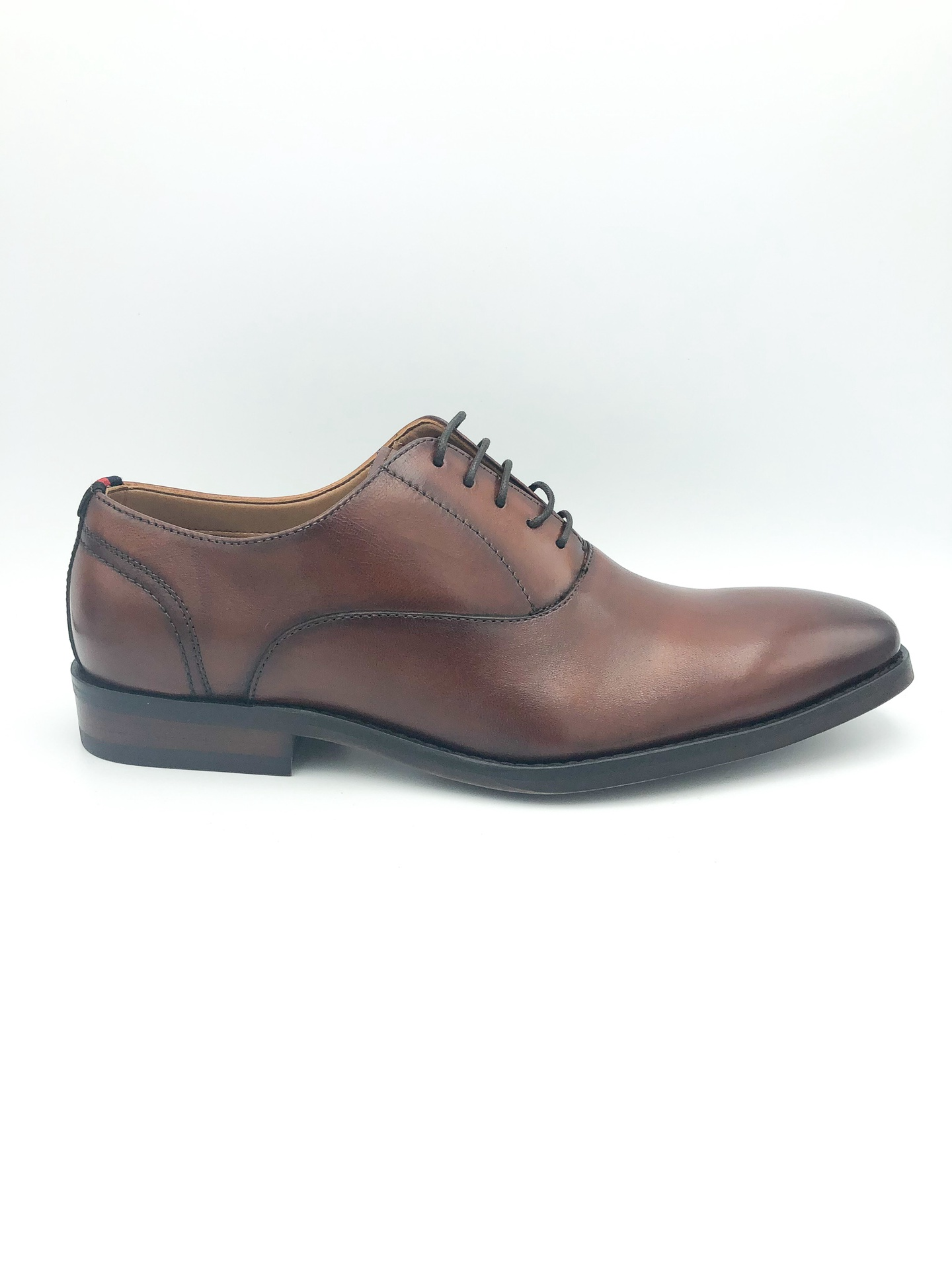 STEVE MADDEN- DRISCOLL IN TAN LEATHER