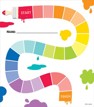 CTP 1597 PAINTED PALETTE STUDENT INCENTIVE CHART